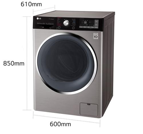 ماشین لباسشویی 10.5 کیلویی ال جی مدل j9
