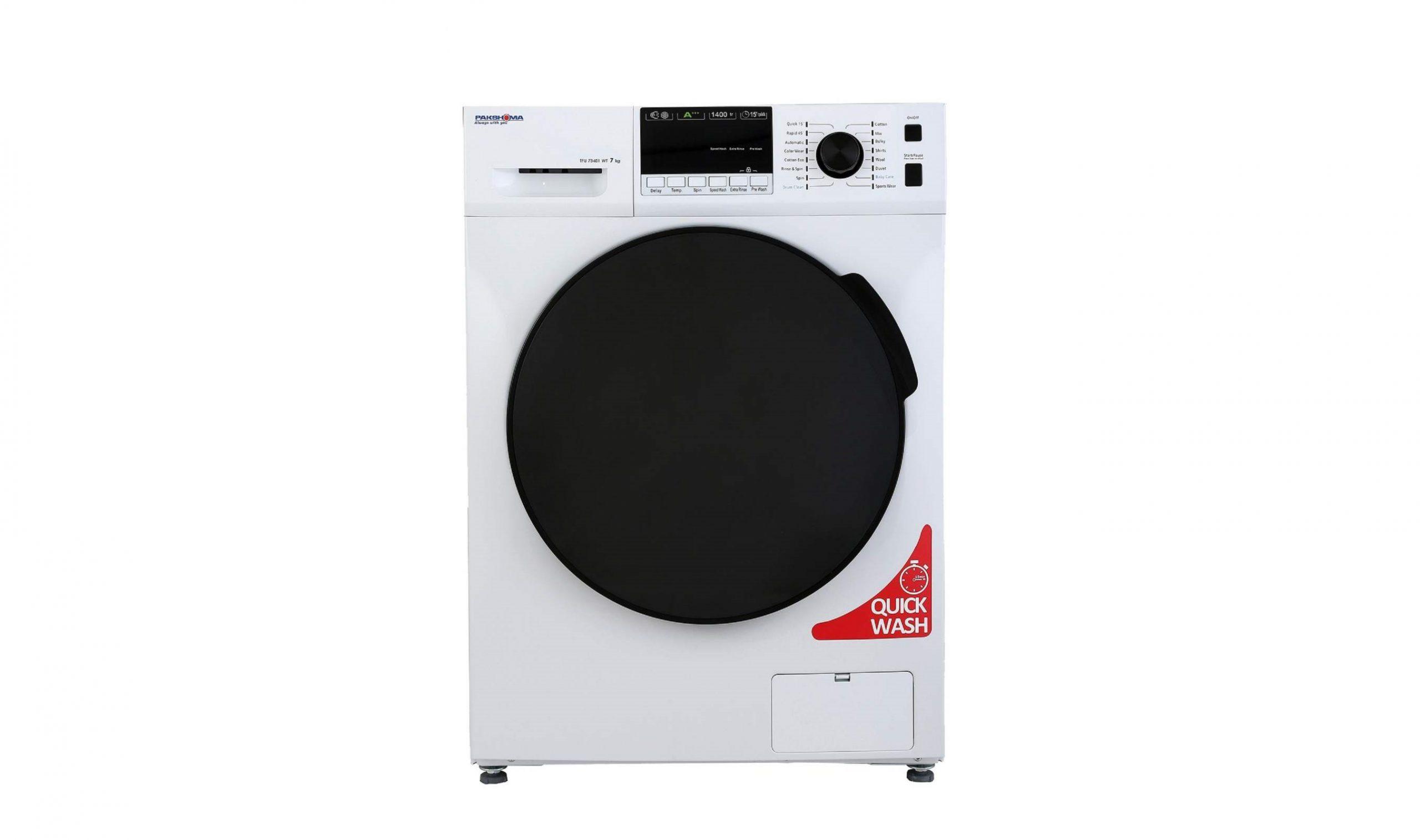 خرید ماشین لباسشویی پاکشوما مدل TFU-73401 ظرفیت 7 کیلوگرم