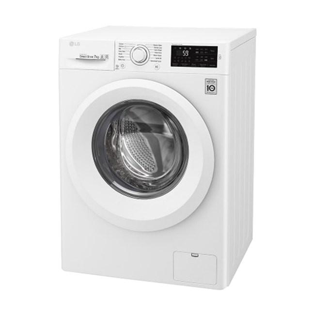 قیمت ماشین لباسشویی ال جی بخار شور دار 8 کیلو  F4J5TNP7S