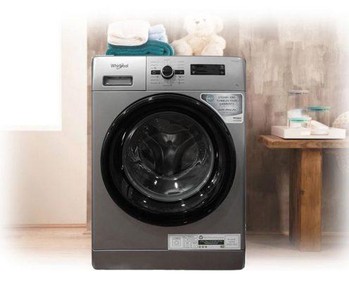 قیمت ماشین لباسشویی 7 کیلویی ویرپول مدل FWF71253SB